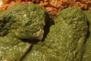 Mole verde: receta rápida para hacer en casa