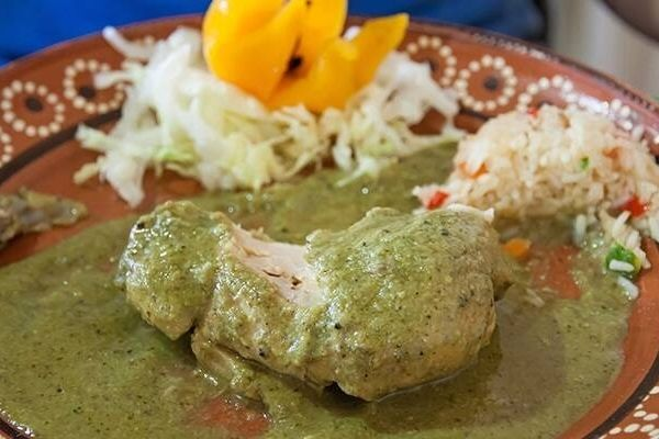 receta de mole verde