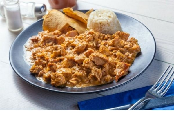 preparación de pollo en chipotle