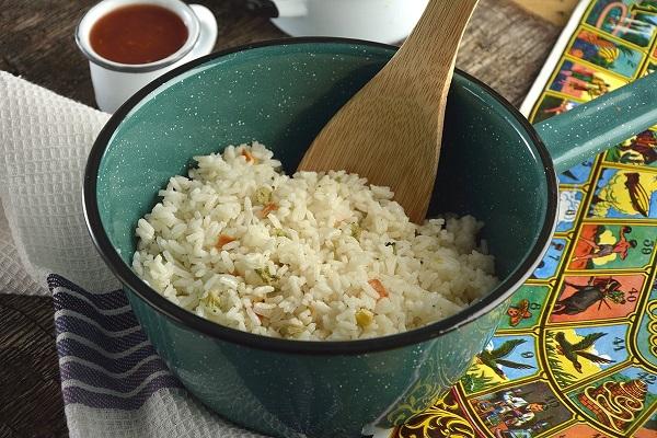 arroz blanco mexicano