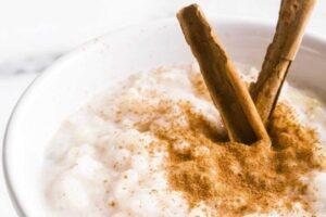 arroz con leche mexicano ingredientes