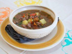 receta de caldo ranchero mexicano