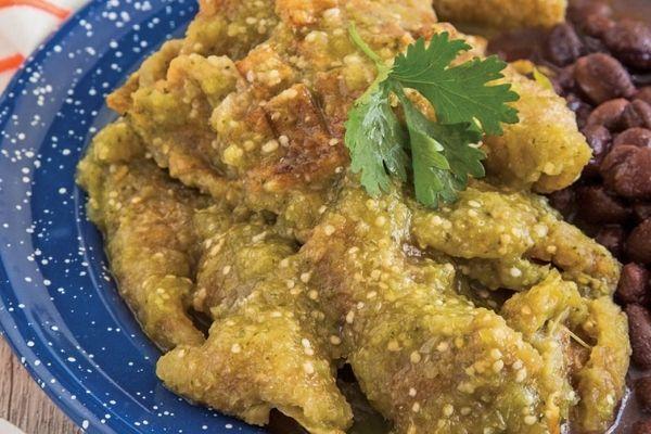 receta de chicharrón en salsa verde