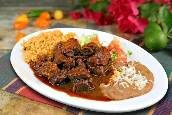costillas de cerdo en salsa de chile morita ingredientes
