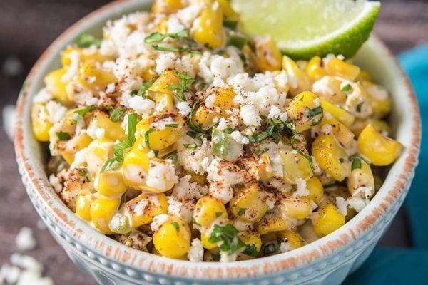 esquites mexicanos ingredientes