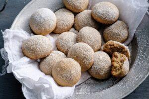 galletas besos de nuez ingredientes