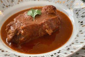 receta de espinazo de puerco en chile guajillo