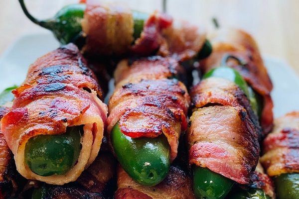 Jalapeño Poppers 🌶️ con tocino