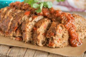 pastel de carne mexicano