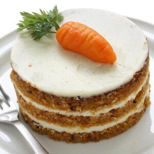 Pastel de zanahoria con betún de queso crema 🥕