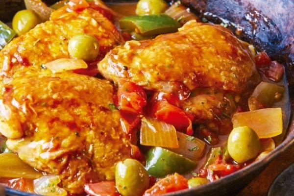 ingredientes pollo a la veracruzana