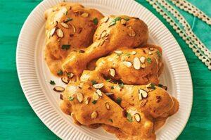 pollo almendrado mexicano