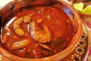 ingredientes caldo de camarón
