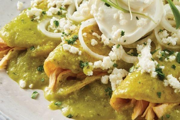 Deliciosa receta de Enchiladas verdes