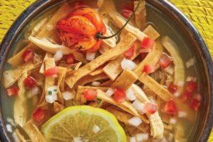 ingredientes sopa de lima