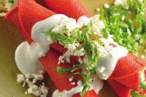 ingredientes tacos de pollo tricolor