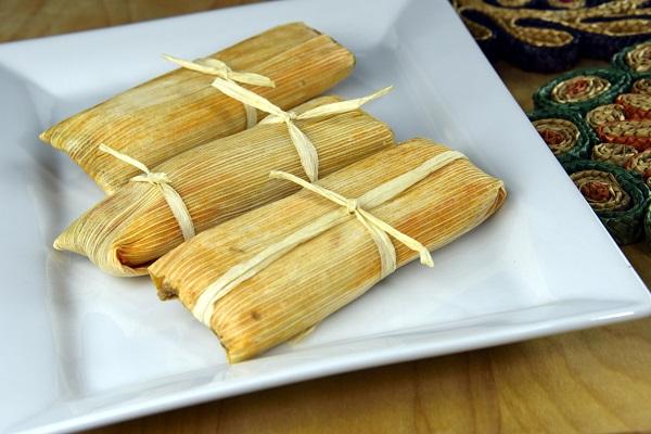 tamales de piña mexicanos