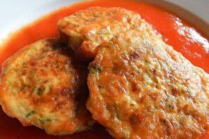 ingredientes tortitas de calabacitas con queso